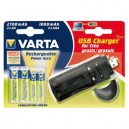 OFFRE SPECIALE AA-AAA + CHARGEUR USB VARTA